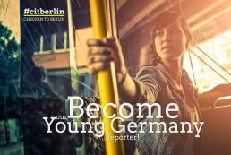 #citberlin – Check in to Berlin. Key-Visual Konzeption und Entwicklung, Aktions-Logo Gestaltung, Webdesign und Social-Media Beratung, Kommunikationsmittel