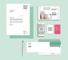 Paleo Finest Serviced Apartments – Logo-Design, Corporate Design für Existenzgründung, Flyer und Plakate, Design Betreuung und Beratung