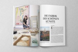 DE Magazin Deutschland – Editorial Design, Magazingestaltung