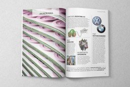DE Magazin Deutschland – Editorial Design, Magazingestaltung